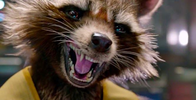 Rocket Raccoon Gardiens de la Galaxie