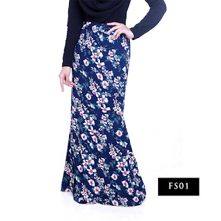 FLORAL SKIRT KOLEKSI GC - SOLD OUT