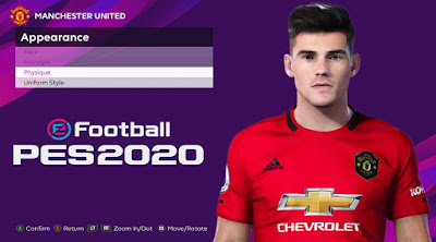 PES 2020 Faces Arnau Puigmal Martinez by Rachmad ABs