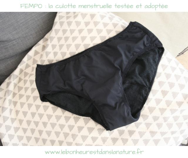 FEMPO : la culotte menstruelle testée et adoptée