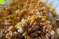 Nudeln mit Käse Sauce: Kichererbsennudeln BIO (1x250g) aus 100% Kichererbsenmehl 250g mit 21% veganem Protein von Five-Mills.de für Muskelwachstum und Muskelerhalt - Eiweißnudeln geeignet als Fleischersatz und Supplementersatz