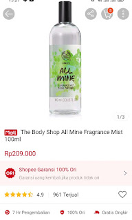 The Body Shop All Mine 100 ml