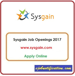 Sysgain hiring Freshers Software Engineer Trainee jobs in Hyderabad Apply Online
