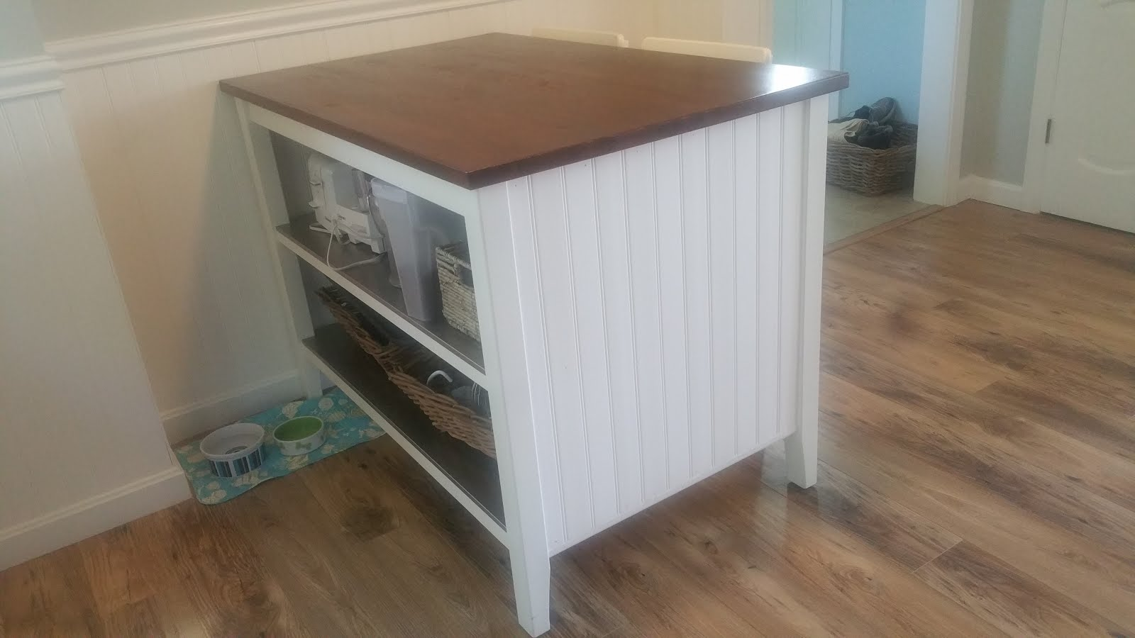 Salt Marsh Cottage: Ikea Kitchen Island Hack