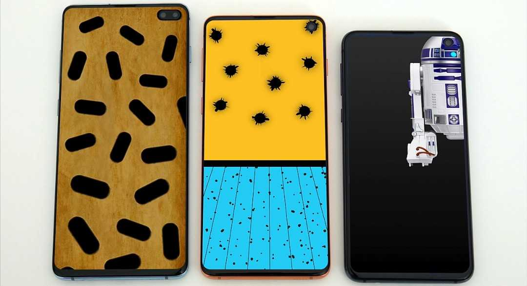 Samsung Galaxy S10 best hole punch wallpapers