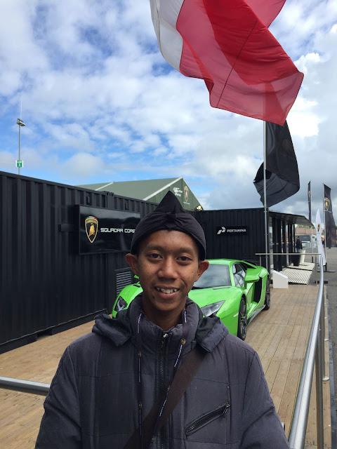 Pemenang Desain Grafis Lamborghini Pertamina
