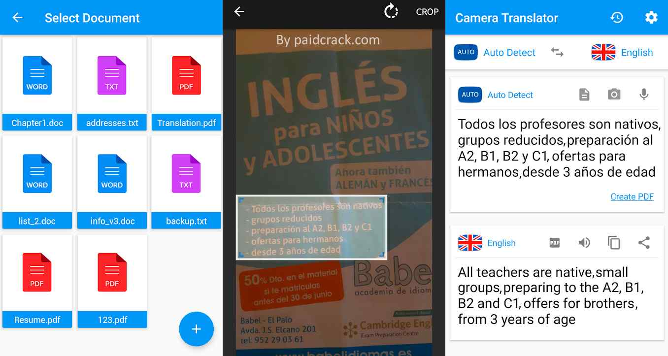 Camera Translator - Translate Picture Scanner PDF Pro Mod Apk 231.0