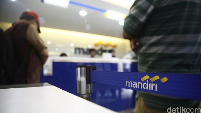 Gara-gara Sistem Eror, Duit Bank Mandiri Rp 10 Miliar 'Raib'