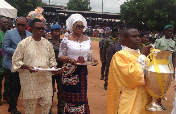 governor willie obiano wife chrism mass