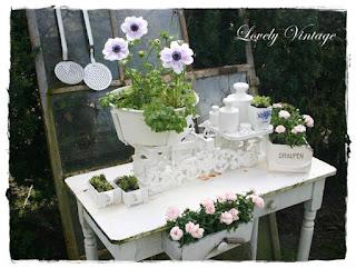 Vintage Garten lovely vintage