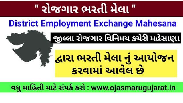 "District Employment Exchange Mahesana ""Rozgaar Bharti Mela"""