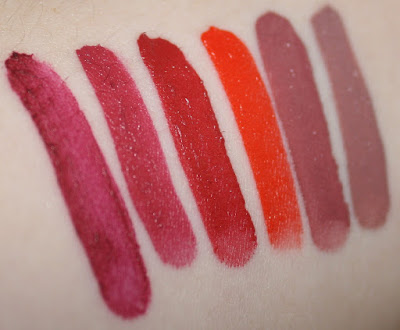 julep it's whipped collection swatches