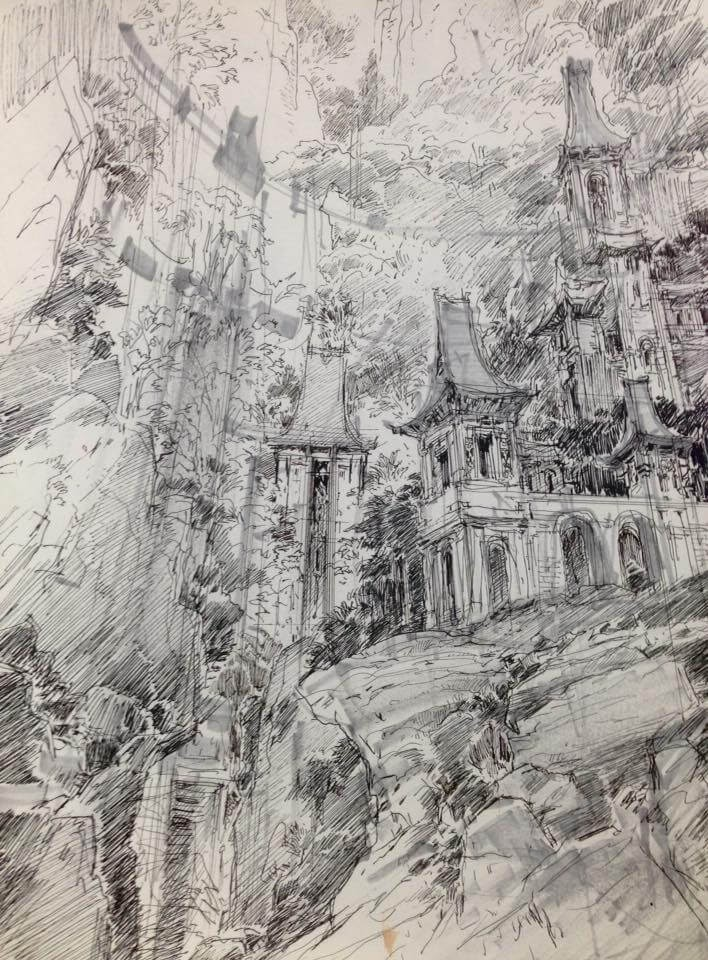 10-PaperBlue-Large-Ghostly-Detailed-Fantasy-City-Expanse-www-designstack-co