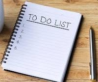 To do list ala kang Hassan