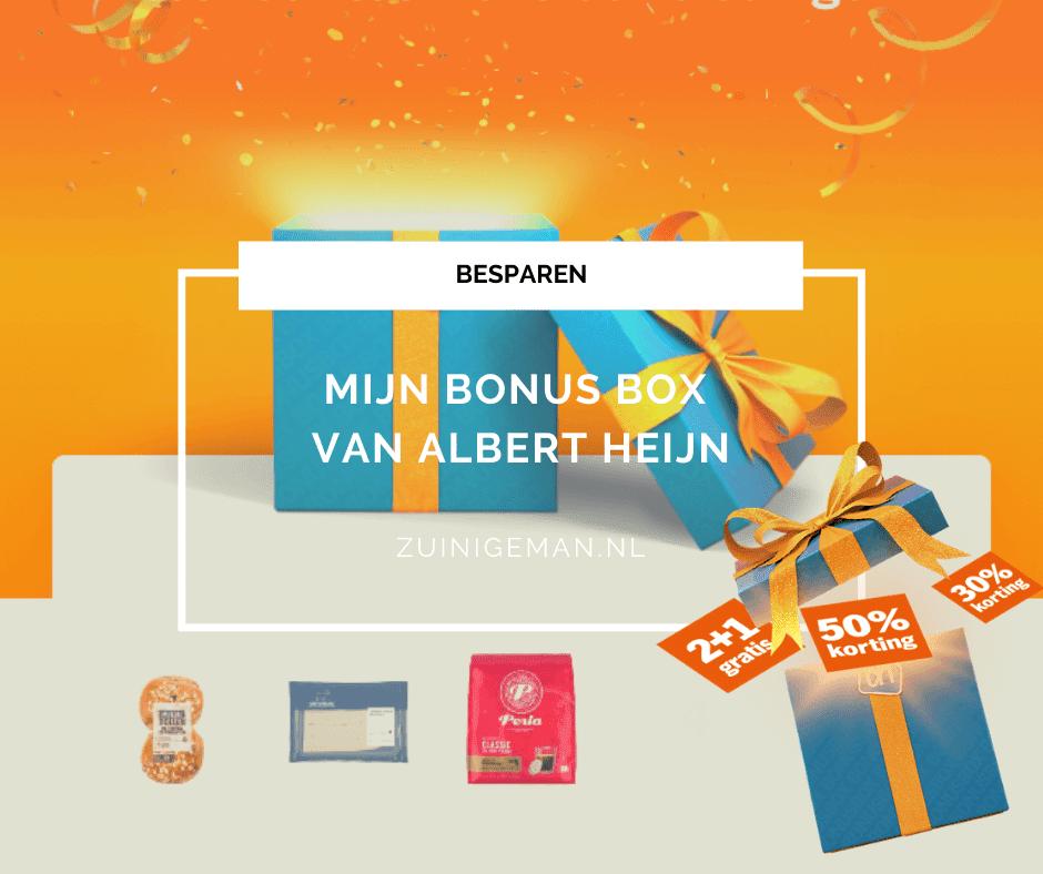 Mijn Bonus Box van Albert Heijn