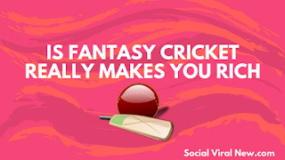 is fantasy cricket dream 11 makes you rich