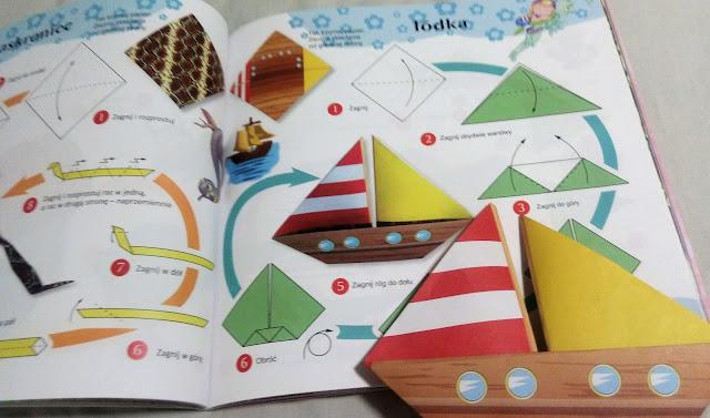 origami dla dzieci łódka