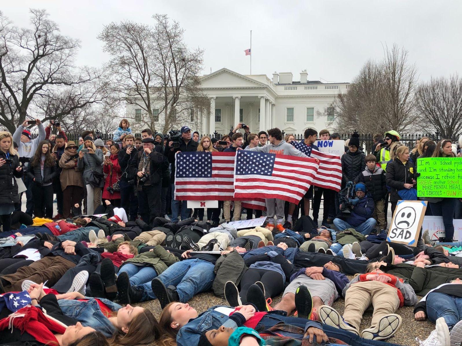 Mitin ciudadano ante la Casa Blanca pidió reformas a la venta de armas en EEUU / VOA