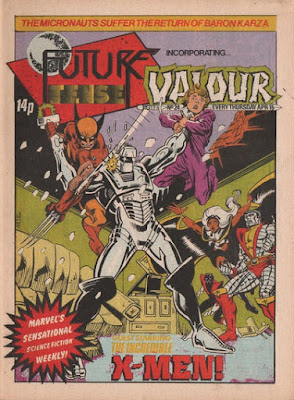 Future Tense and Valour #24, ROM vs the X-Men