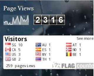 contoh statistik blog