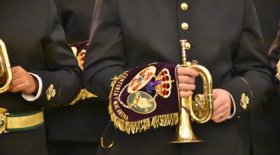 Concierto de la Banda de la centuria en el Mercanti