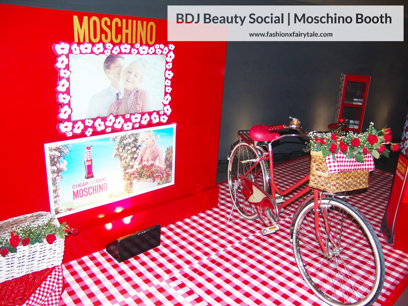 BDJ Beauty Social | Moschino & Revlon Booths