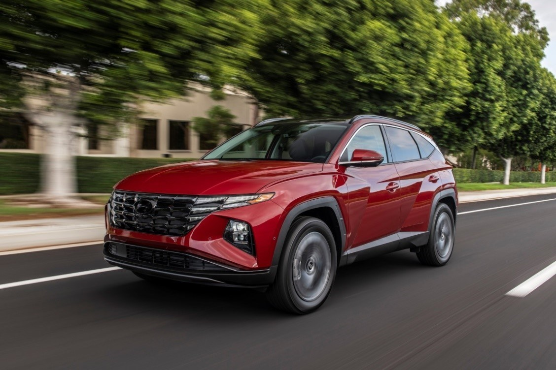 Hyundai Reveals All-New 2022 Tucson SUV for the U.S. Market