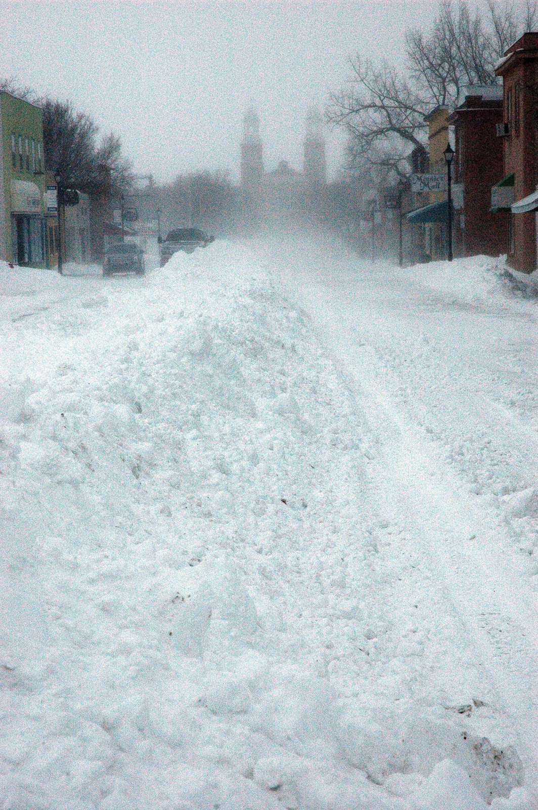 Valley Weather: Gravelbourg, Saskatchewan blizzard photos