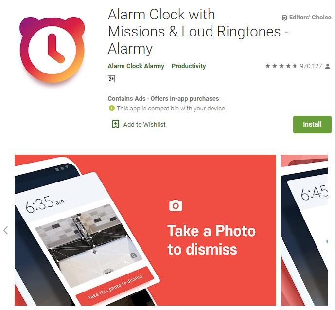 alarmy