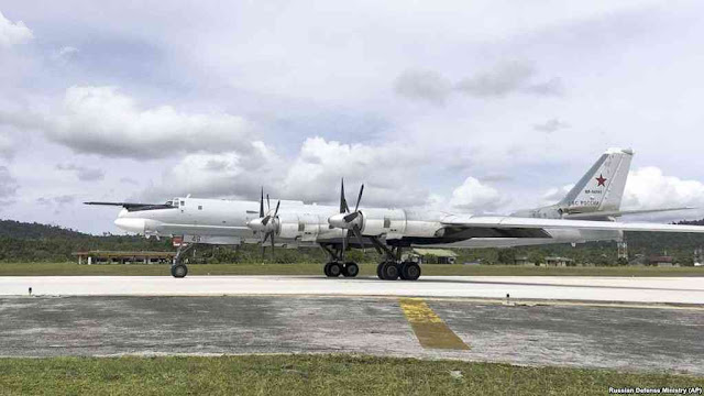 Pentagon Protests After U.S. Jets Intercept Russian Bombers Near Alaska