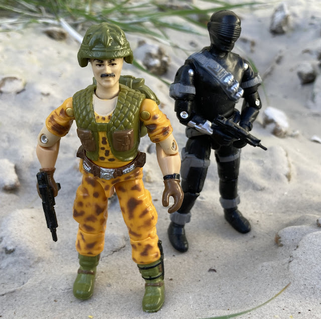 1986 Claymore, Mission to Brazil, Toys R Us Exclusive, 2020 Black Major, 1997 Snake Eyes