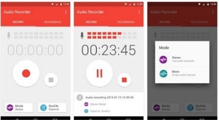 Download Aplikasi Perekam Suara Android Paling Keren Gratis (Audio Recorder), Aplikasi Android Yang Bisa Merekam Suara Sendiri