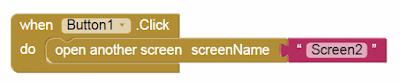 Menghubungkan Screen Pertama Ke Screen Kedua - Tutorial Aplikasi Android di MIP App Investor (AI2)