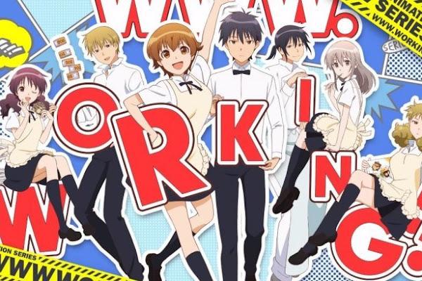 WWW.Working!! BD (Episode 01 — 13) Sub Indo