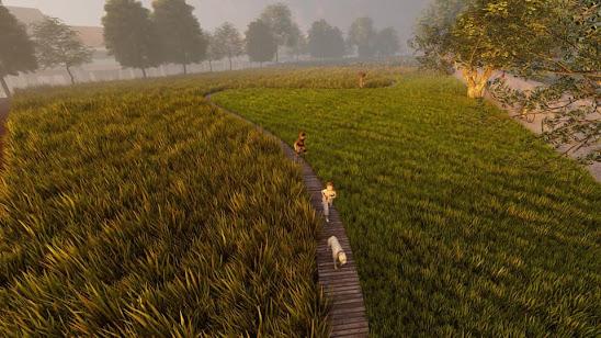 Không gian Nối vòng tay lớn của công viên âm nhạc Trịnh Công Sơn
