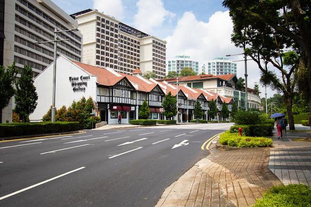 shop house (case coloniali) del Tudor center-Singapore