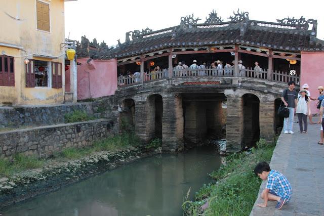 Hội An Vietnam, Chùa Cầu - die Japanische Brücke