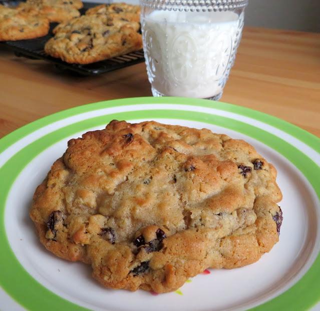 Levain Oatmeal Raisin Cookies