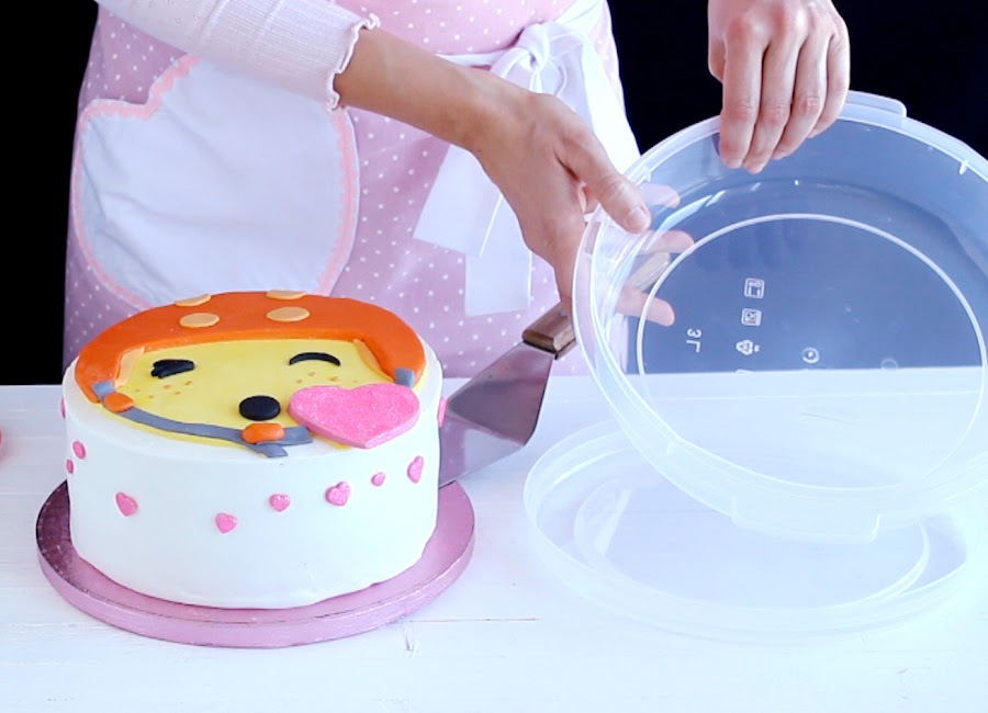 Cómo congelar una tarta fondant