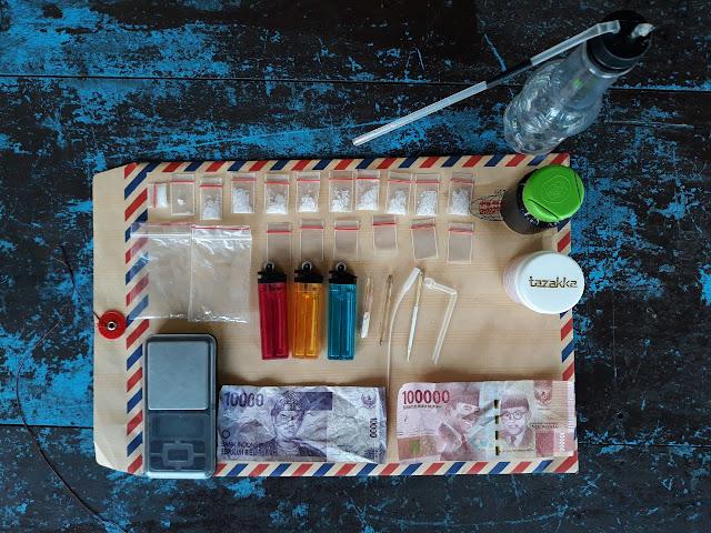 Transaksi Narkoba, 2 Pria Diamankan Kepolisian