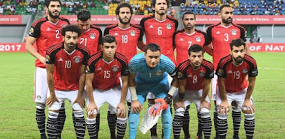 مصر بزيها التقليدي في نهائي كأس الأمم