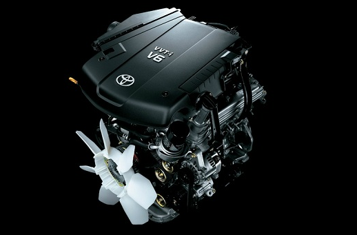 2018 Toyota Hilux Engine