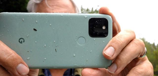 Ilustrasi Kamera Google Pixel 5
