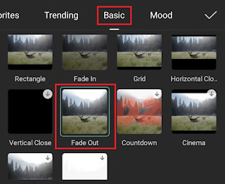 how to fade out video in capcut