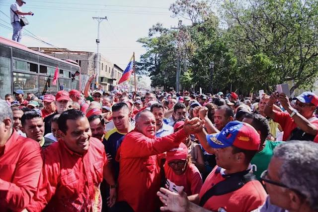 Cabello convoca movilización para el 2 de febrero en la Av. Bolívar