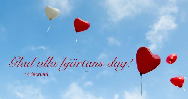 Glad all hjärtans dag 14 februari