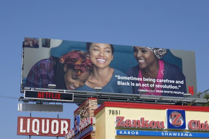 Dear White People Black Lives Matter Netflix billboard