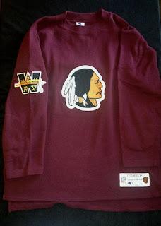 Washington Redskins Champion Throwbacks jersey