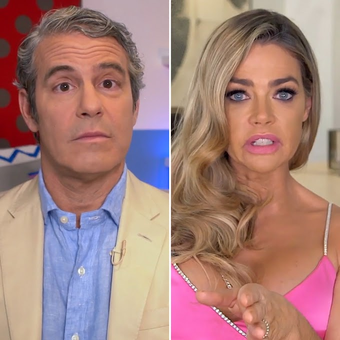 "Andy Cohen Reveals The Real Reason Why Denise Richards Left RHOBH After Two Seasons; Says ""We Were Negotiating A Deal With Her And We Couldn't Reach An Agreement"""
