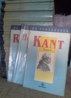 coleção de livros> Os Pensadores